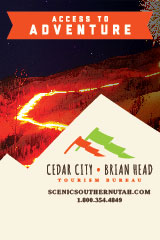 Utah Logan Cedar-City-Brian-Head-Tourism-Convention-Bureau-Banner-1