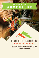 Utah Salt Lake City Cedar-City-Brian-Head-Tourism-Convention-Bureau-Banner-2