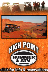 Utah Arches National Park High-Point-Hummer-Banner