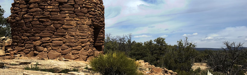 Anasazi Ruins Near Mule Canyon