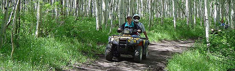 ATVing in Sanpete County