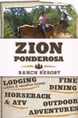 Utah Salt Lake City ZionPonderosa-banner