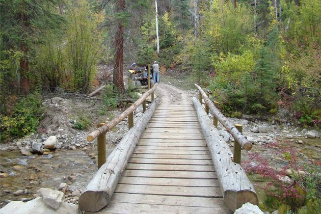 Bridge on Arapeen OHV Trail - Sanpete County