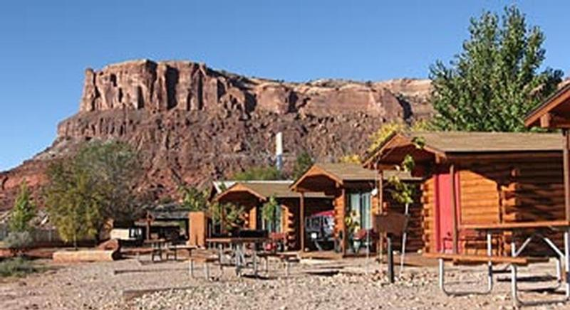 Archview rv resort and campground for Moab utah cabins