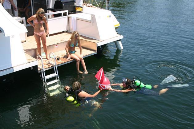 Bull Shoals Lake Boat Dock, Bull Shoals, AR - Ozarks Region