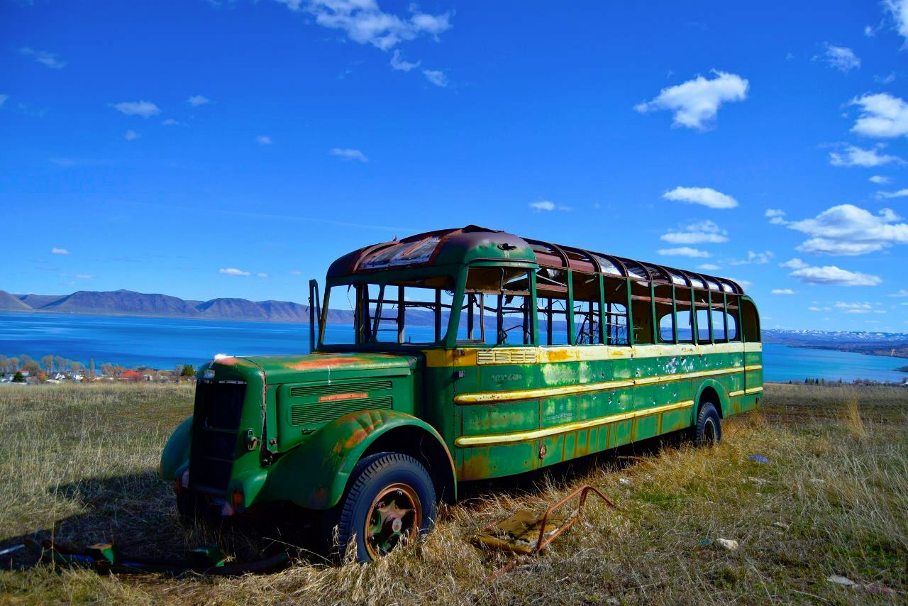 Old Bus at Bear Lake