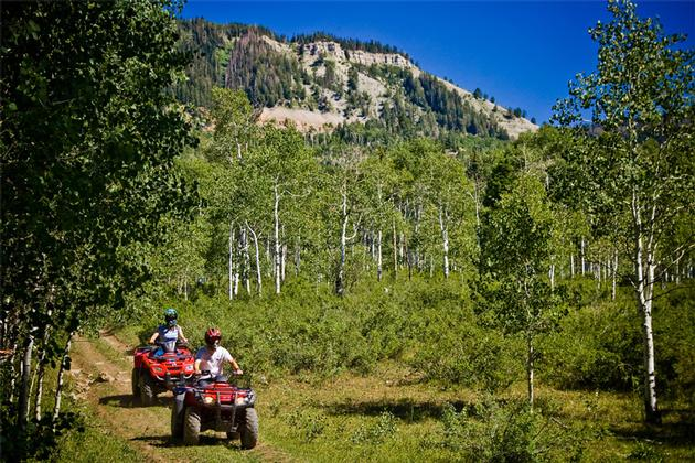 Ephraim canyon atv trail for Atv parks in texas with cabins