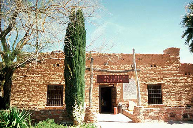 Lost City Museum in Overton
