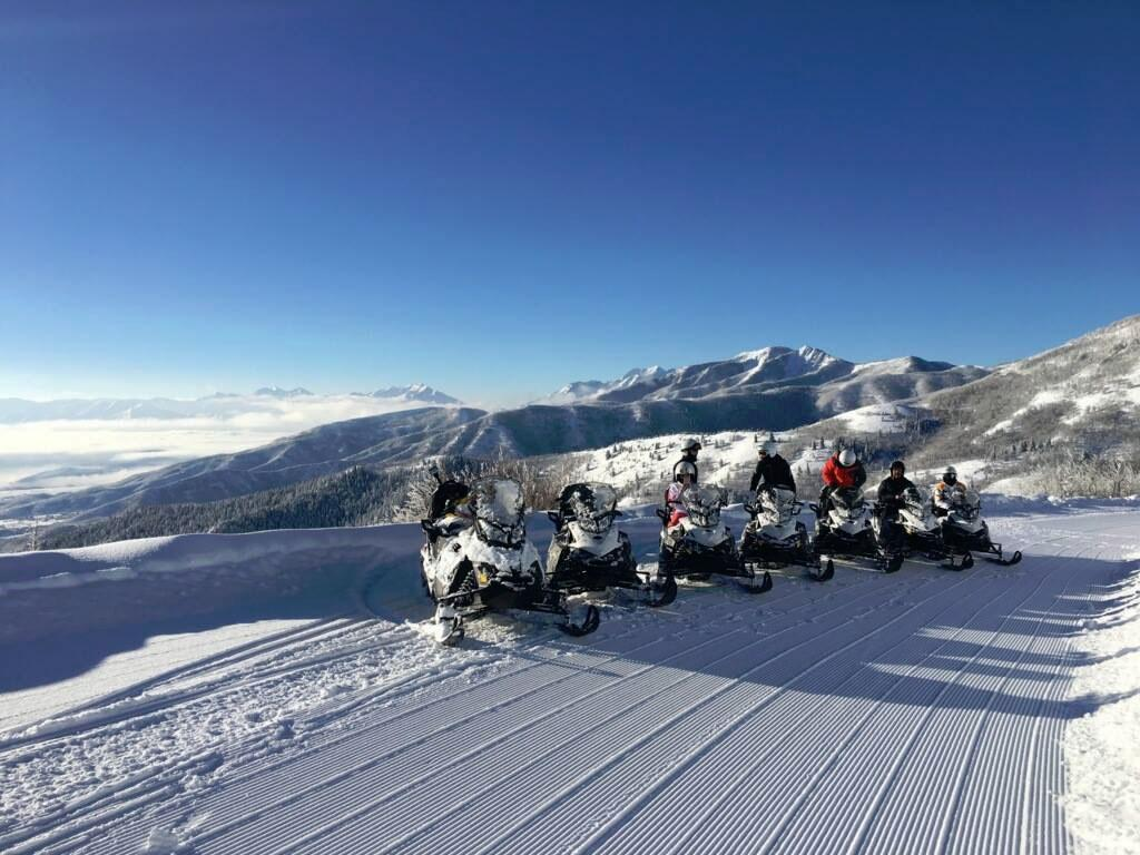 Lofty Peaks Adventures Snowmobiling