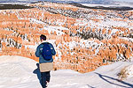Winter Hiking in Bryce