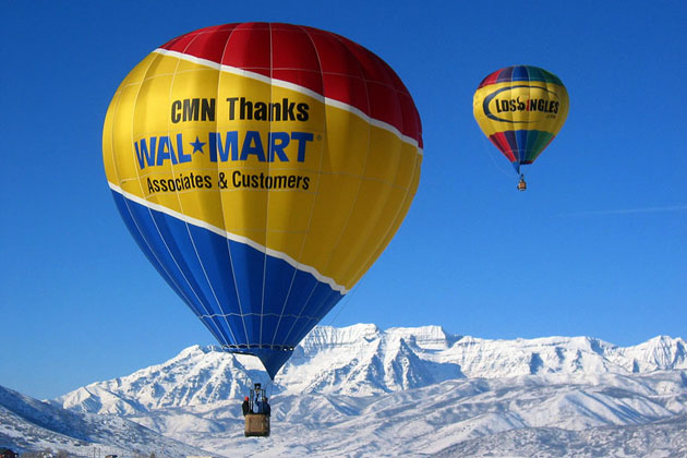 Hot Air Ballooning above Heber City