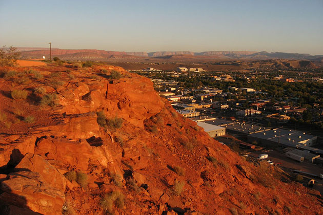 Overlooking St. George