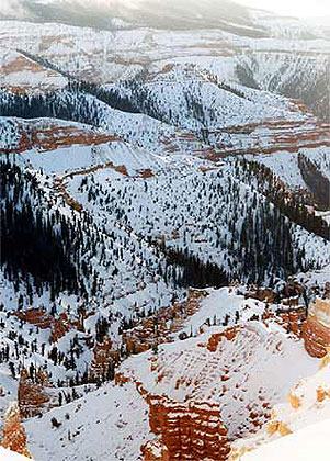 Cedar Breaks Winter