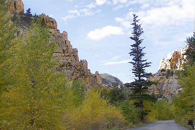 Sheep Creek Canyon