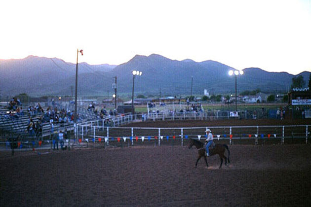 A rodeo in Heber City