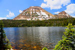Mirror Lake with Bald Mountain
