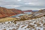 Winter at Flaming Gorge