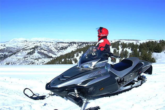 Snowmobiling on the Wasatch Plateau