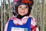 Young Girl Skiier