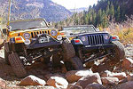 Jeeping in Mineral Basin