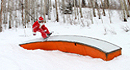 Santa on the Slopes
