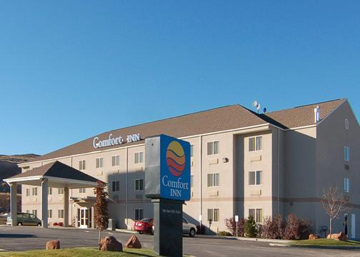 Utah State Wide Map Of All Choice Hotel Chains
